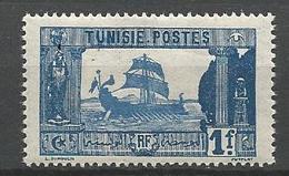 TUNISIE N° 107 NEUF* LEGERE TRACE DE CHARNIERE  / MH - Tunisie (1888-1955)