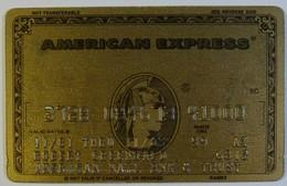 USA - Credit Card - American Express - American National Bank & Trust - Exp 11/83 - Used - Tarjetas De Crédito (caducidad Min 10 Años)