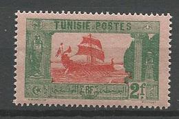 TUNISIE N° 108 NEUF* LEGERE TRACE DE CHARNIERE  / MH - Tunisie (1888-1955)
