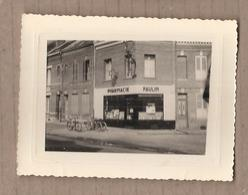 PHOTO 80 - AMIENS - Pharmacie PAULIN - Route De Rouen - TB PLAN Devanture Vitrine Bicyclettes - 1955 - Amiens
