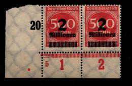 DEUTSCHES REICH 1923 Nr 311 Mit Plattennummer: 5 (94559) - Deutschland