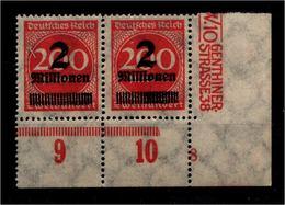 DEUTSCHES REICH 1923 Nr 309 Mit Plattennummer: 8 (94558) - Deutschland