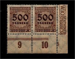 DEUTSCHES REICH 1923 Nr 313 Mit Plattennummer: 5 (94563) - Deutschland