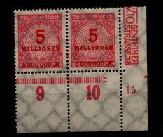 DEUTSCHES REICH 1923 Nr 317 Mit Plattennummer: 15 (94580) - Deutschland