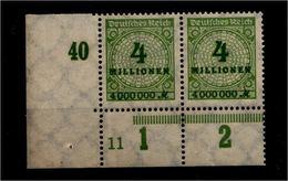 DEUTSCHES REICH 1923 Nr 316 Mit Plattennummer: 11 (94575) - Deutschland