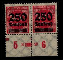 DEUTSCHES REICH 1923 Nr 295 Mit Hausauftragsnummer (94671) - Deutschland