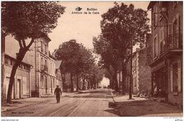 BELLAC AVENUE DE LA GARE 1923 - Bellac