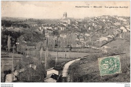 BELLAC VUE GENERALE SUD EST TBE - Bellac