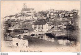 BELLAC VUE GENERALE TBE - Bellac