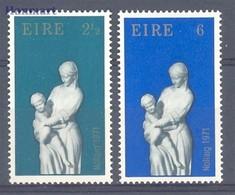 Ireland 1971 Mi 272-273 MNH ( ZE3 IRL272-273 ) - Kerstmis