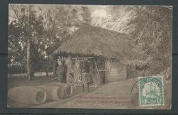 New Guinea German 1910 PPC Simpsonhafen To Spokane USA 5pf Green Yacht Franking - Colony: German New Guinea