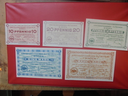 MINDEN (CAMP DE PRISONNIERS RHENANIE) SERIE COMPLETE PEU CIRCULEE (B.10) - [ 2] 1871-1918 : Impero Tedesco
