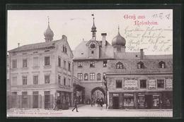 AK Rosenheim, Geschäfte Am Mitteltor - Rosenheim