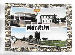 40 - MUGRON ( Landes ) 4 Vues + Blason. Voir Le Scan Recto-verso - Francia