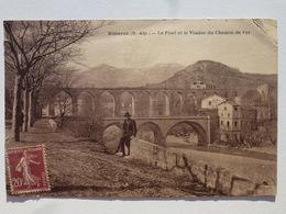 04 SISTERON  Carte Inédite Sur Delcampe En Bel état - Le Pont Et Le Viaduc Du Chemin De Fer  DEN1044 - Sisteron