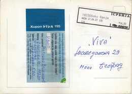 Postcard Of Serbia Post Label ( Cyrillic. ) 2007 - Soko Banja - Serbia
