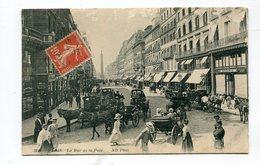 CPA 75 : PARIS  Rue De La Paix Très Animée  VOIR  DESCRIPTIF §§§ - Expositions