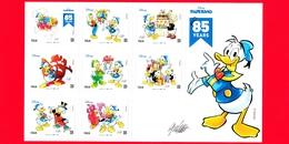 Nuovo - MNH - ITALIA - 2019 - 85 Anni Di Paperino – Fumetto – Disney - BF - B X 8 - Blocchi & Foglietti