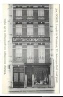 Antwerpen-Zuid - Jos Ooms, Tappissier - Garnisseur. - Antwerpen