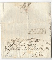 DA CAMERINO A JESI - 8.2.1824. - Italia