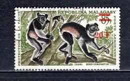 MADAGASCAR   PA  N° 106  OBLITERE   COTE 0.50€   LEMURIEN ANIMAUX - Madagascar (1960-...)