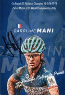Cyclisme, Caroline Mani - Wielrennen