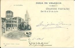 - ESPAGNE  -  VALENCE - La Catedral - Valencia