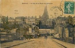 50 , Saint-Lô  , Le Bas De La Route De Carentan , * 433 41 - Saint Lo