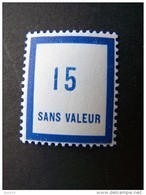 FICTIFS NEUF ** N°F104 SANS CHARNIERE (FICTIF F 104) - Phantom