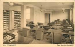 75 , PARIS IX , Assurance La Concorde Salle De Dactylographie 5/7 Rue De Londres , Machine A écrire , * 435 38 - Distretto: 09