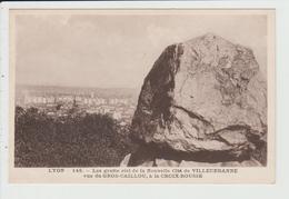 LYON - RHONE - LES GRATTE CIEL DE LA NOUVELLE CITE DE VILLEURBANNE VUE DU GROS CAILLOU, A LA CROIX ROUSSE - Altri