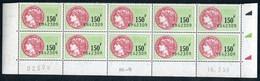 Timbre Fiscal (fiscaux) - SFU N° 509 Neuf - Bas De Feuilles De 10 Timbres - Coin Daté Du 18 Mars 1998 - Fiscali