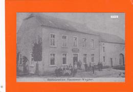 Hagen -  Reproduction !! - 2 Scans - Restaurant Hausemer-Wagner - Postales