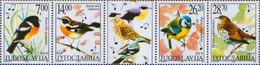 Yugoslavia 2002 Protected Animal Species - Songbirds, MNH (**) Michel 3061-3064 - Ungebraucht