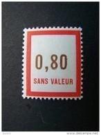FICTIFS NEUF ** N°F117 SANS CHARNIERE (FICTIF F 117) - Phantomausgaben