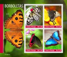 Sao Tome 2019   Fauna  Butterflies S201911 - Sao Tomé Y Príncipe