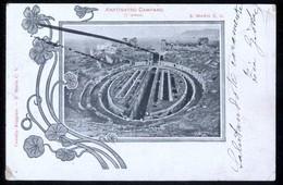 SANTA MARIA CAPUA VETERE - CASERTA - 1900 - ANFITEATRO CAMPANO - DIFETTI VARI (VEDI SCANSIONE) - Caserta