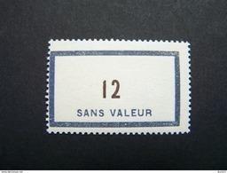 FICTIFS NEUF ** N°F121 SANS CHARNIERE (FICTIF F 121) - Finti