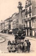 88 - Epinal - La Fontaine Pinaud (animée) 1916 - Epinal