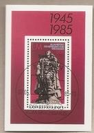DDR - Foglietto FDC Con Annullo Speciale MICHEL Block 82: 40° Anniversario Della Liberazione - 1985 * G - Seconda Guerra Mondiale
