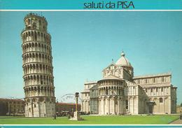 Pisa (Toscana) Piazza Del Duomo, Torre Pendente, Cattedrale, Abside, Duomo Square, Leaning Tower, Cathedral, Apse - Pisa