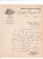 42-Gaucher-Bergeron ..Armes De Chasse & De Guerre.. Gros-Exportation....St Etienne...(Loire)..1901 - Otros