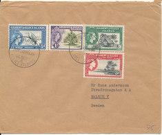 Gilbert & Ellice Islands Cover Sent To Sweden 21-12-1962 Good Franked - Gilbert & Ellice Islands (...-1979)