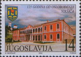 Yugoslavia 2002 Liberation Of Niksic - 125th Anniversary, MNH (**) Michel 3085 - Ungebraucht
