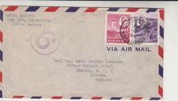 North Borneo / Airmail / G.B. - Francobolli