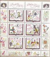 DDR - Serie Completa Nuova In Blocco MICHEL 2987/92: 200° Anniversario Nascita Fratelli Grimm - 1985 * G - Nuovi