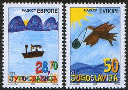 Yugoslavia 2002 Joy Of Europe, MNH (**) Michel 3088-3089 - Neufs