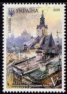 Ukraine - 2019 - Beauty And Greatness Of Ukraine - Lviv City - Mint Stamp - Ukraine