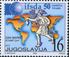 Yugoslavia 2002 Stamp Day, MNH (**) Michel 3092 - Ungebraucht
