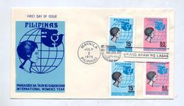 Lettre Fdc 1975 Année Femme - Filippijnen